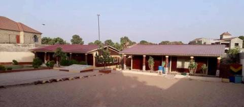 Classrooms with new roofs